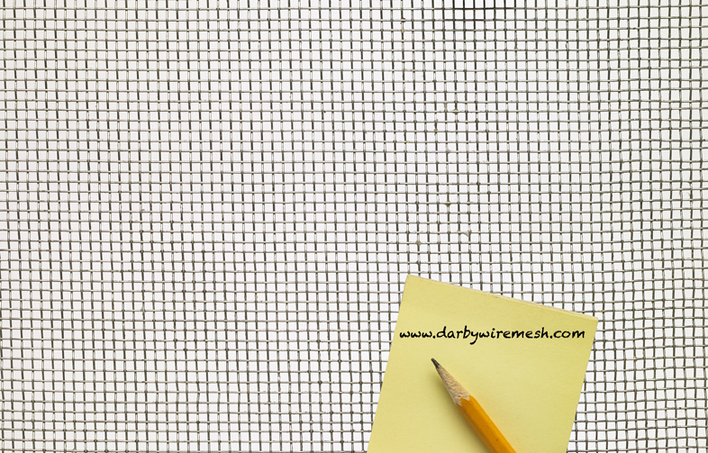 Aluminum Woven Wire Mesh - By Opening Size: From 0.437\