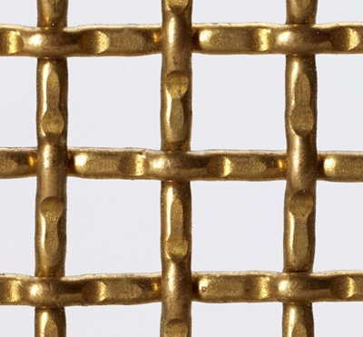 Brass Woven Wire Mesh - By Weave/Crimp Type: Intercrimp or Lock ...