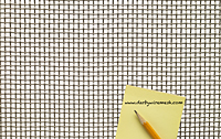 1 x 1 Inch (in) to 10 x 10 Monel Woven Wire Mesh (3MO.080PL) - 2