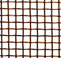 Bronze Fireplace Screen - 2