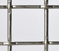 Aluminum Woven Wire Mesh - Lock Crimp (Large Openings Usually Require Custom Manufacturing)