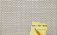 1 x 1 Inch (in) to 10 x 10 Monel Woven Wire Mesh (4MO.063PL) - 2