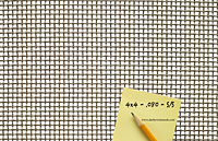 2 x 2 to 4 x 4 - T-304 Stainless Steel Wire Mesh (4304.080PL) - 2