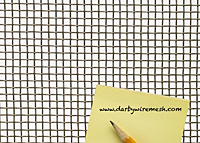 1 x 1 Inch (in) to 10 x 10 Monel Woven Wire Mesh (4MO.035PL)