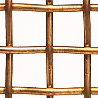"Bronze Woven Wire Mesh - By Opening Size: From 0.920"" to 0.228"""