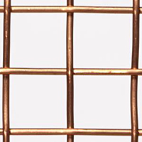 0.920 Inch (in) Opening Size to 0.228 Inch (in) Opening Size Copper Woven Wire Mesh