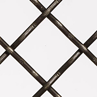 Plain Steel Diamond Wire Mesh