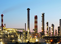 Refinery and Oil Field