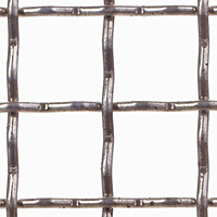 T-316 Stainless Steel Wire Mesh - By Construction Type: Intercrimp or Lock Crimp