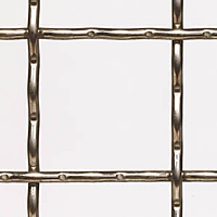 "T-304 Stainless Steel Wire Mesh - By Opening Size: From 4.00"" to 1.338"""