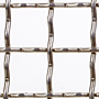 2 x 2 Inch (in) Opening Size to 2 x 2 Aluminum Woven Wire Mesh
