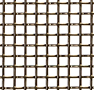 T-304 Stainless Steel Wire Mesh Popular Fireplace Screens (8304.035PL-FP3X3) - 2