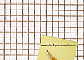 1 x 1 to 10 x 10 Copper Woven Wire Mesh (2CU.135PL)