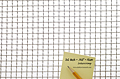 2 x 2 Inch (in) Opening Size to 2 x 2 Aluminum Woven Wire Mesh (2AL.063IN) - 2