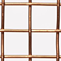 "Copper Woven Wire Mesh - By Opening Size: From 0.920"" to 0.228"""