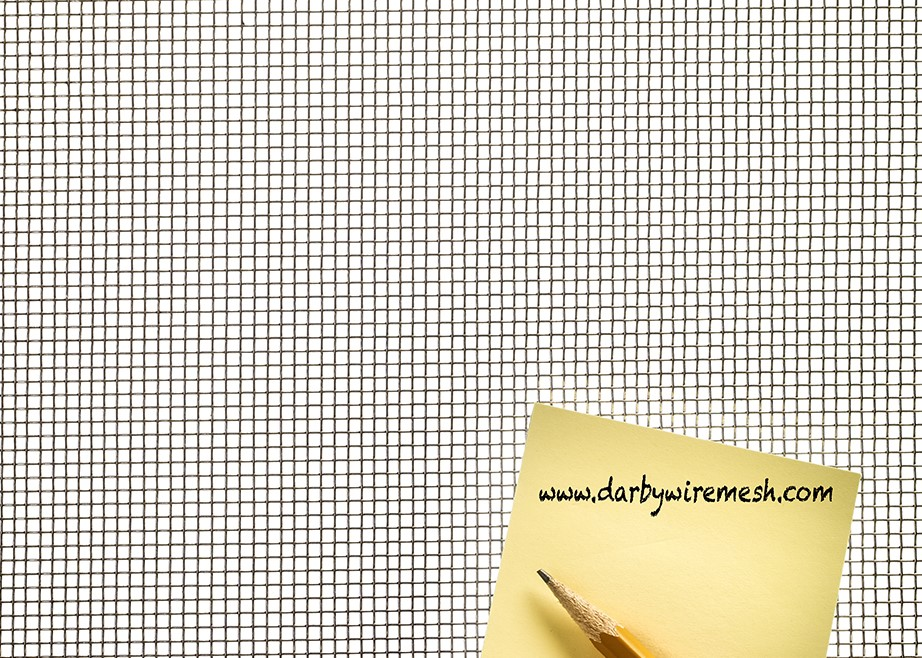 Item # 6304.028PL, T-304 Stainless Steel Wire Mesh - 6 x 6 Mesh ...