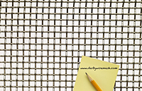 2 x 2 to 4 x 4 - T-304 Stainless Steel Wire Mesh (2304.135PL) - 2