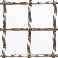 "Aluminum Woven Wire Mesh - By Opening Size: From 2.00"" to 0.453"""