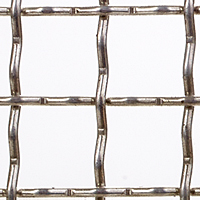 "Aluminum Woven Wire Mesh: From 2"" x 2"" Opening to 2 x 2 Mesh"