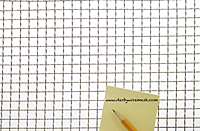 "Aluminum Woven Wire Mesh: From 2"" x 2"" Opening to 2 x 2 Mesh - 2"