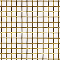 0.215 to 0.0603 Inch (in) Opening Size Brass Woven Wire Mesh