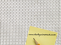 4 x 4 to 10 x 10 Aluminum Woven Wire Mesh - 2