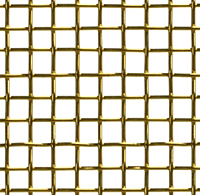 Brass Wire Mesh Popular Fireplace Screens - 2