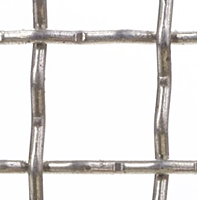 "2 x 2 Inch (in) Opening Size to 2 x 2 Aluminum Woven Wire Mesh (2""AL.192IN-O)"