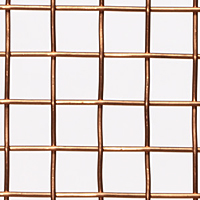 1 x 1 to 10 x 10 Copper Woven Wire Mesh (4CU.105PL) - 2