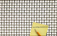 1 x 1 Inch (in) to 10 x 10 Monel Woven Wire Mesh (2MO.135PL) - 2