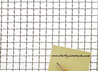 "2 x 2 Inch (in) Opening Size to 2 x 2 Aluminum Woven Wire Mesh (3/4""AL.105IN)"