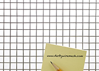 2 x 2 to 4 x 4 Stainless Steel Welded Wire Mesh (2304.063WD)