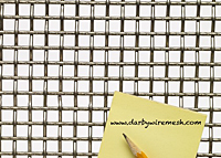 2 x 2 to 4 x 4 - T-304 Stainless Steel Wire Mesh (2304.135PL)