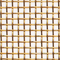 "Bronze Woven Wire Mesh - By Opening Size: From 0.215"" to 0.0603"""