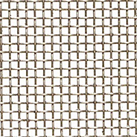 "Galvanized Wire Mesh - By Opening Size: From 0.0544"" to 0.030"""