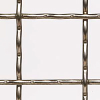 4 x 4 Inch (in) Opening Size to 3/4 x 3/4 Inch (in) T-316 Stainless Steel Wire Mesh