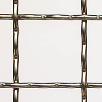T-316 Stainless Steel Wire Mesh for Window and Safety Guards