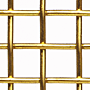 "Brass Woven Wire Mesh - By Opening Size: From 0.920"" to 0.228"""