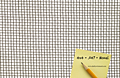 1 x 1 Inch (in) to 10 x 10 Monel Woven Wire Mesh (4MO.047PL) - 2