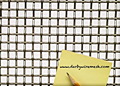 1 x 1 Inch (in) to 10 x 10 Monel Woven Wire Mesh (2MO.135PL)