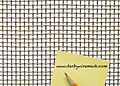1 x 1 Inch (in) to 10 x 10 Monel Woven Wire Mesh (3MO.063PL)