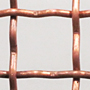 Weave/Crimp Type Intercrimp or Lock Crimp Copper Woven Wire Mesh