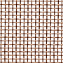 0.0553 - 0.0300 Inch (in) Opening Size Copper Woven Wire Mesh