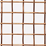 1 x 1 to 10 x 10 Copper Woven Wire Mesh