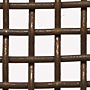 "Plain Steel Wire Mesh - By Opening Size: From 1.00"" to 0.253"""